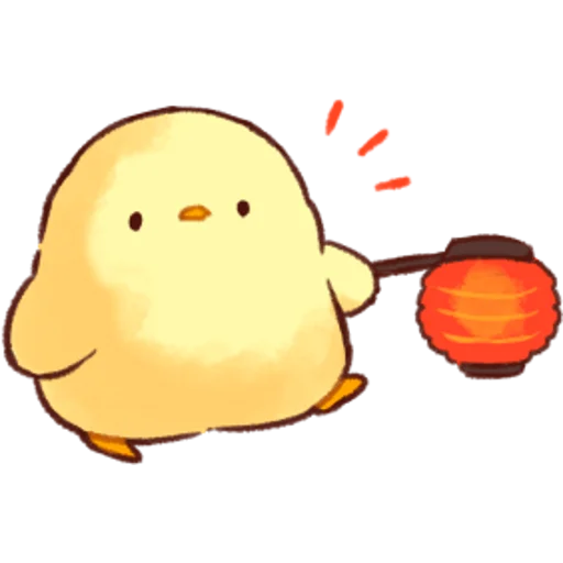 soft and cute chick 04 - Sticker 22