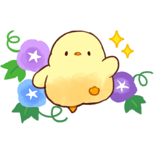 soft and cute chick 04 - Sticker 20