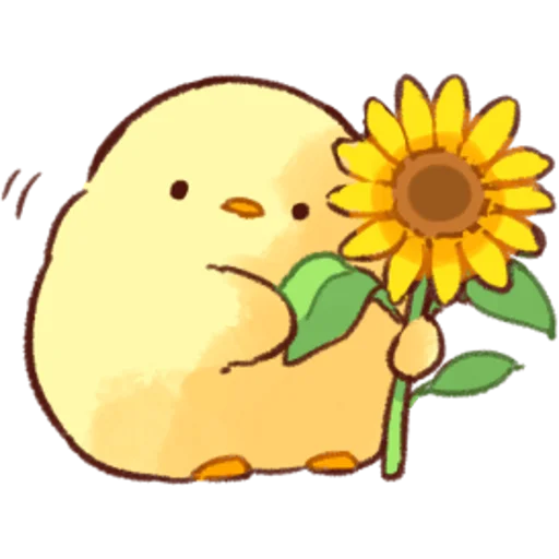 soft and cute chick 04 - Sticker 17