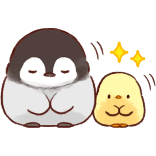 soft and cute chick 04 - Sticker 19