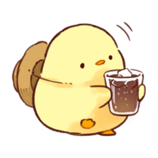 soft and cute chick 04 - Sticker 9