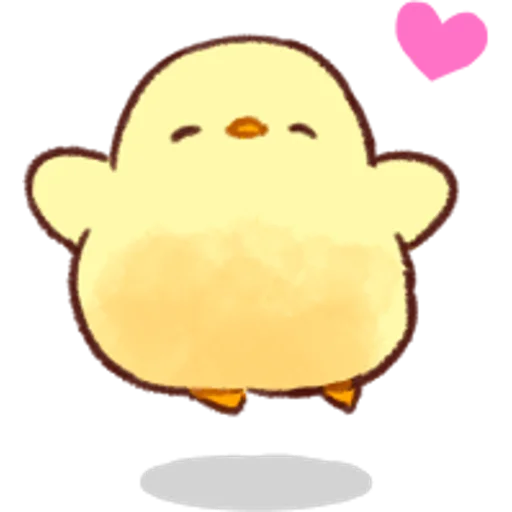 soft and cute chick 04 - Sticker 27