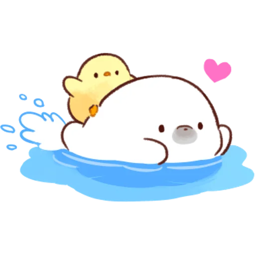 soft and cute chick 04 - Sticker 26