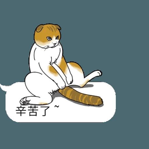 群聚在對話框上的貓 - Sticker 6