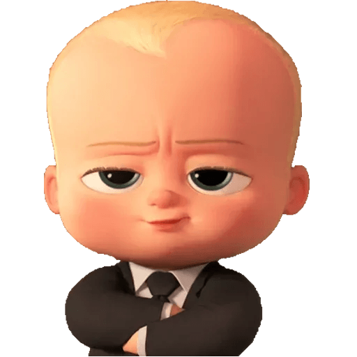 Boss Baby - Sticker 5