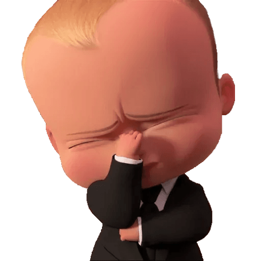 Boss Baby - Sticker 22