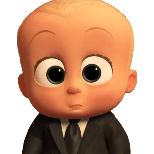 Boss Baby - Sticker 17