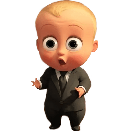 Boss Baby - Sticker 26