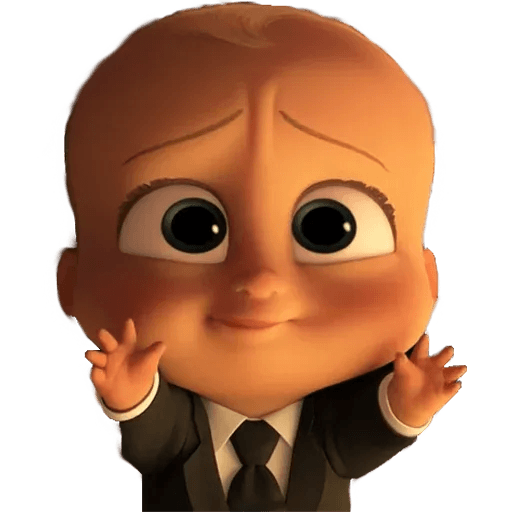Boss Baby - Sticker 27