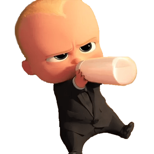 Boss Baby - Sticker 12