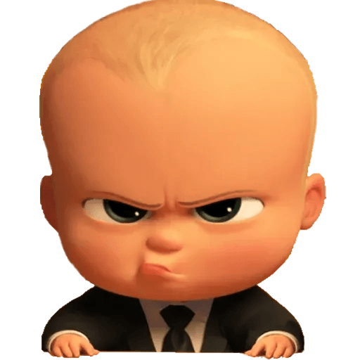 Boss Baby - Sticker 3