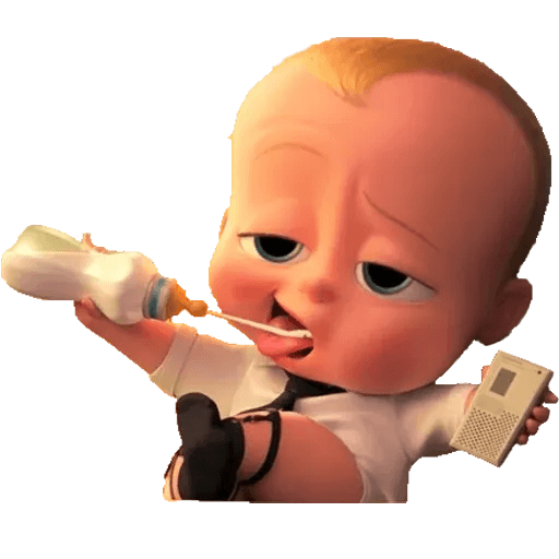 Boss Baby - Sticker 6