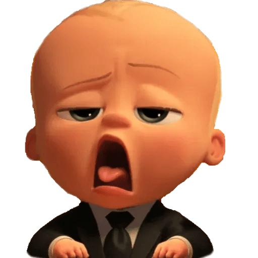 Boss Baby - Sticker 2