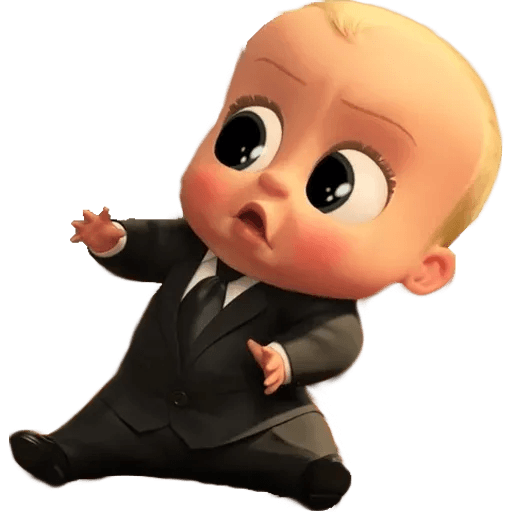 Boss Baby - Sticker 25