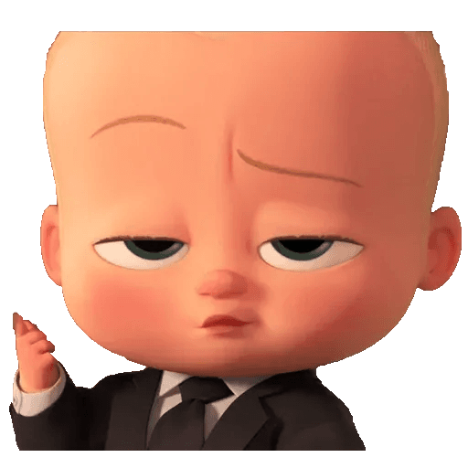 Boss Baby - Sticker 11