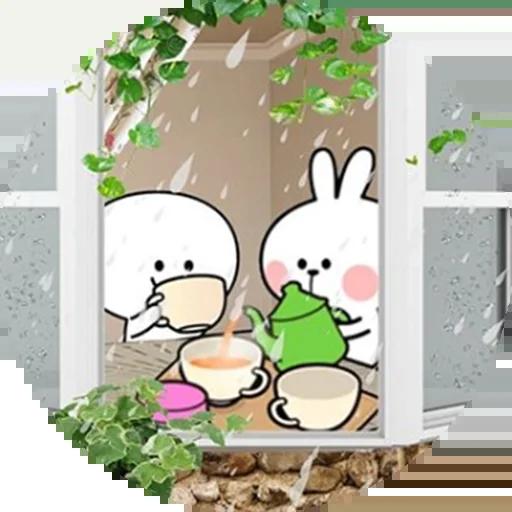Spoiled rabbit 🐰  - Sticker 19