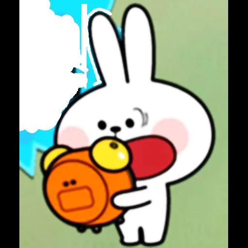 Spoiled rabbit 🐰  - Sticker 15