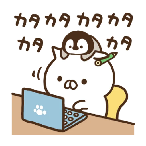 Penguin and Cat Days x RIZAP - Sticker 16