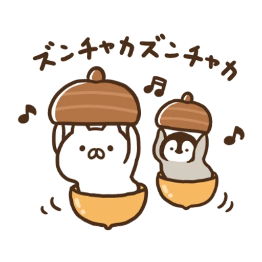 Penguin and Cat Days x RIZAP - Sticker 6