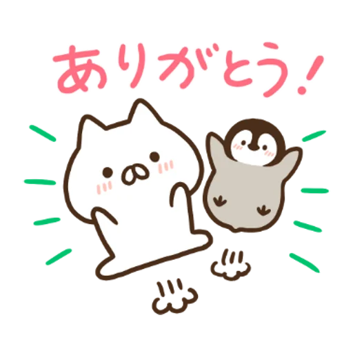 Penguin and Cat Days x RIZAP - Sticker 10