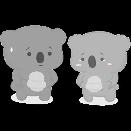 雲朵樹熊の日常 - Sticker 5
