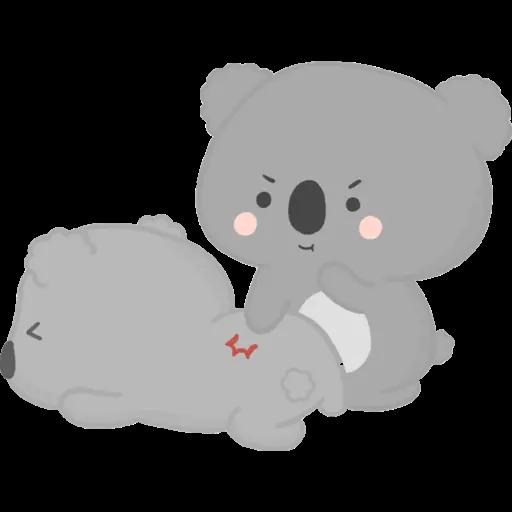 雲朵樹熊の日常 - Sticker 11