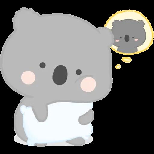 雲朵樹熊の日常 - Sticker 10