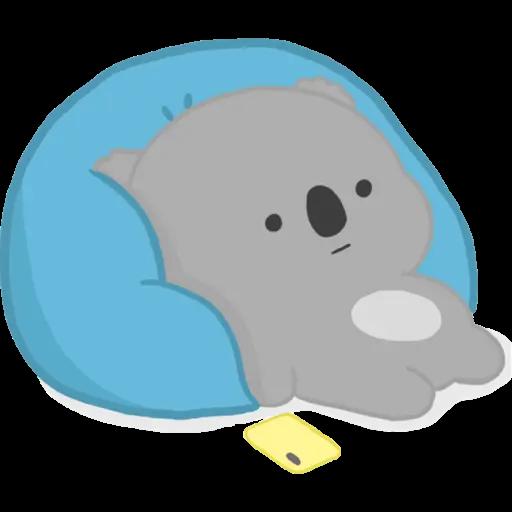 雲朵樹熊の日常 - Sticker 1