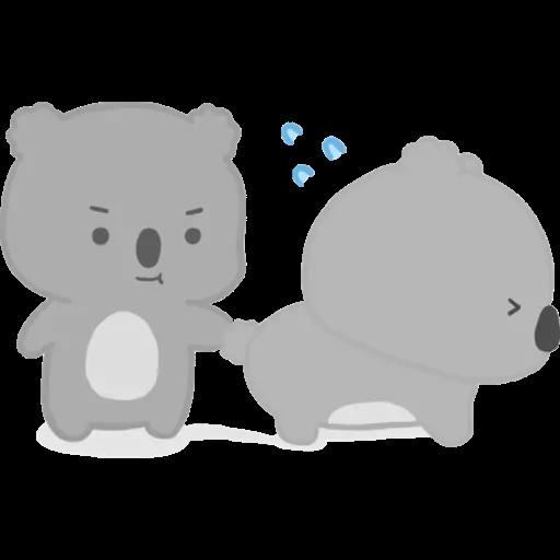 雲朵樹熊の日常 - Sticker 4