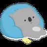 雲朵樹熊の日常 - Tray Sticker