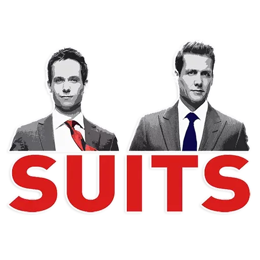 Suits - Sticker 2