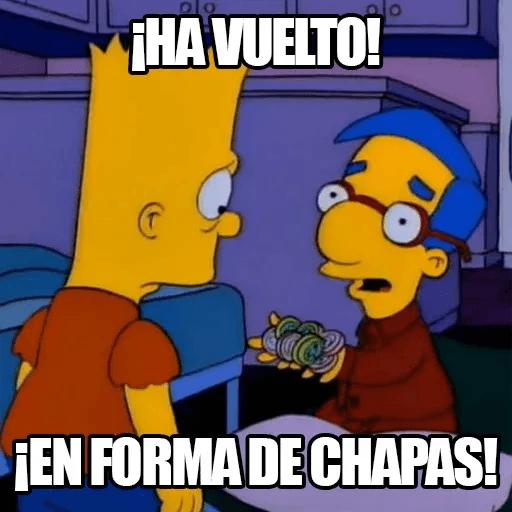 [ES] Simpsons Memes I - Sticker 15