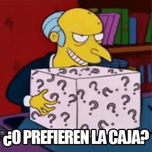 [ES] Simpsons Memes I - Sticker 23