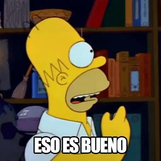 [ES] Simpsons Memes I - Sticker 17