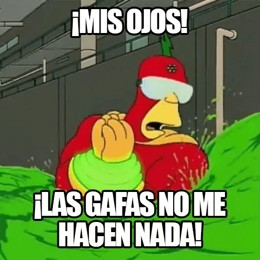 [ES] Simpsons Memes I - Sticker 12