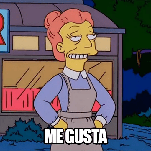 [ES] Simpsons Memes I - Sticker 13