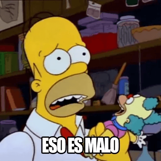 [ES] Simpsons Memes I - Sticker 16