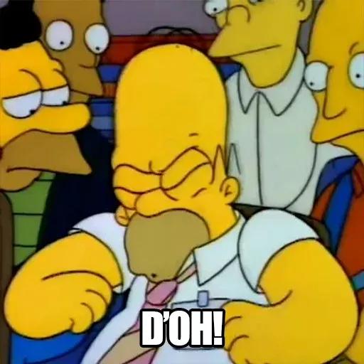 [ES] Simpsons Memes I - Sticker 1