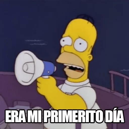 [ES] Simpsons Memes I - Sticker 14