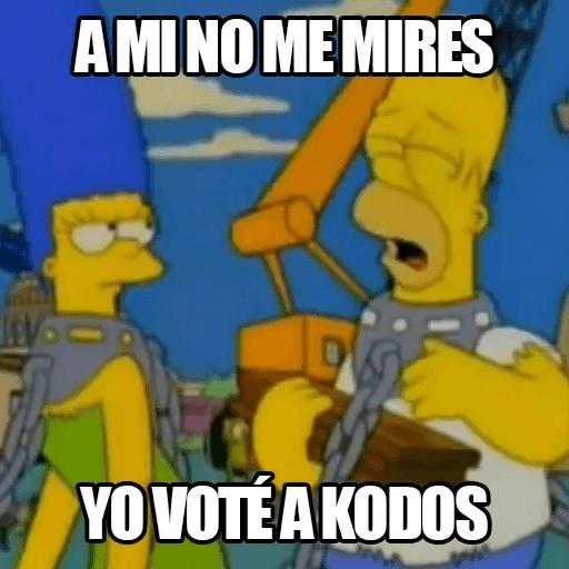 [ES] Simpsons Memes I - Sticker 9