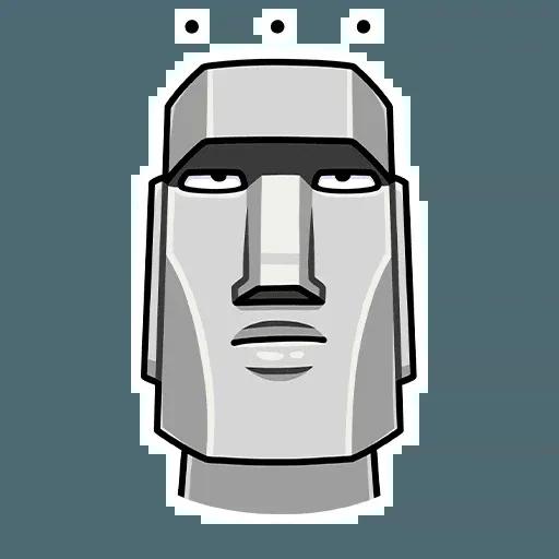 Stonehead-1 - Sticker 1