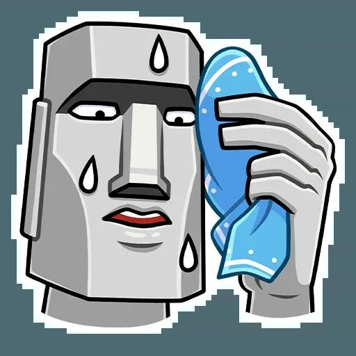 Stonehead-1 - Sticker 2