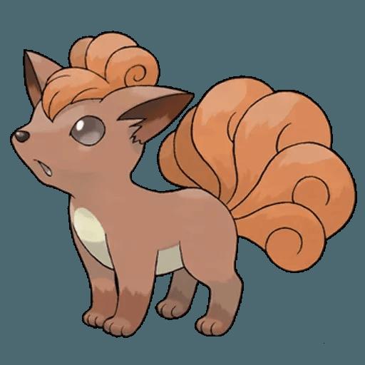 Pokemon First Generation II - Sticker 7
