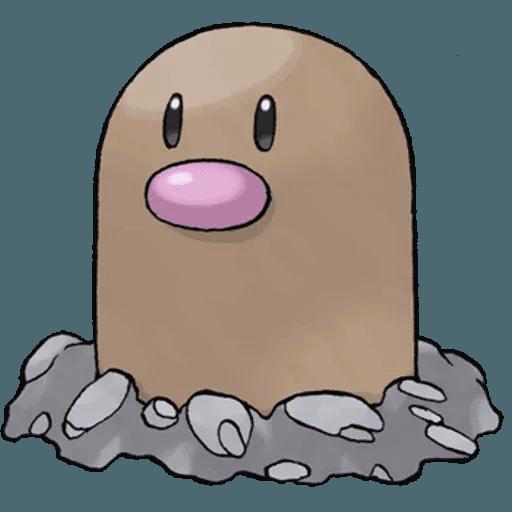 Pokemon First Generation II - Sticker 20