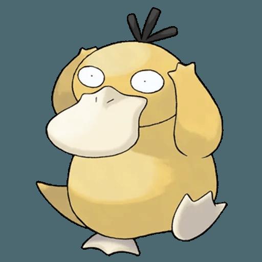 Pokemon First Generation II - Sticker 24