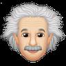 Einstein - Tray Sticker