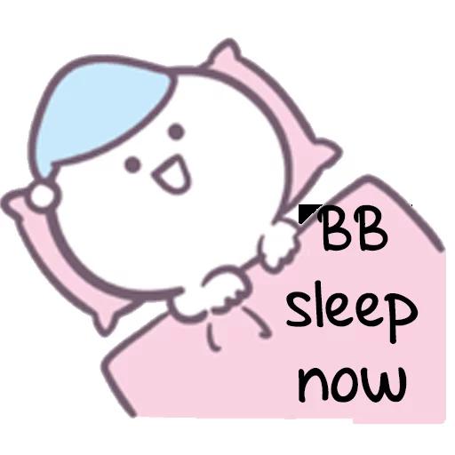 BBY No Sleep SG - Sticker 13