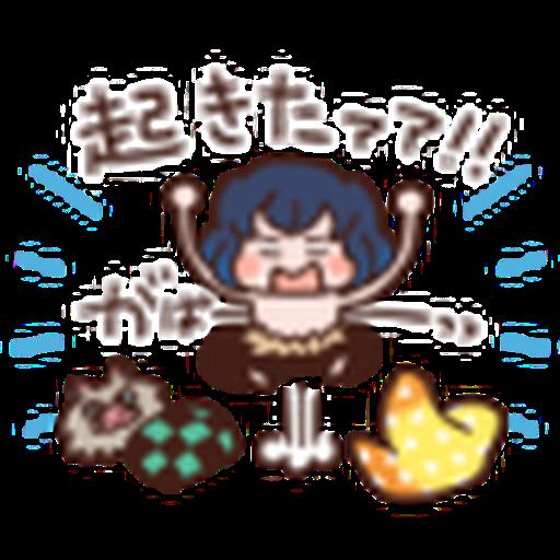 鬼滅 kanahei style 02 - Sticker 19