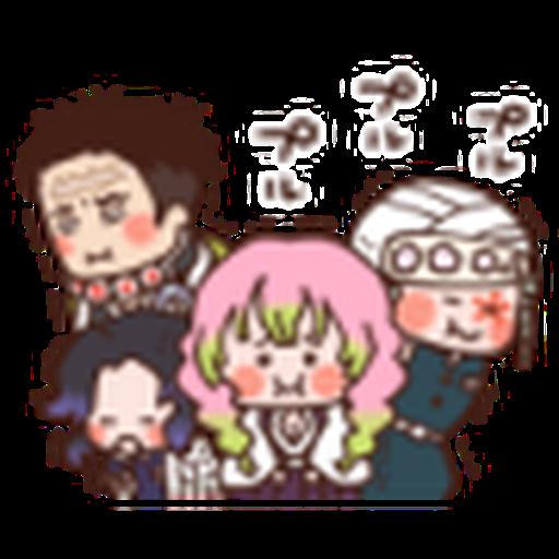 鬼滅 kanahei style 02 - Sticker 18