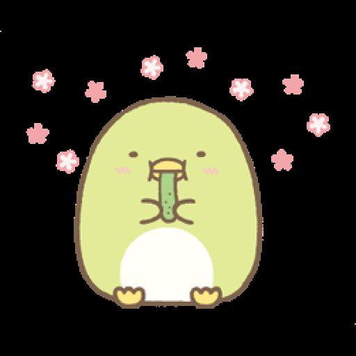 すみっコぐらしの家族で使えるスタンプ - Sticker 17